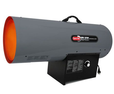 Dyna-Glo Delux Portable 300,000 BTU Propane Forced Air Heater