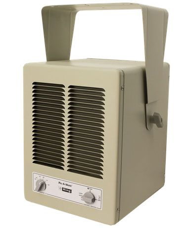 King Electric 5700W Single Phase Unit Heater