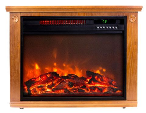 Lifesmart Electric Medium Square Fireplace Heater