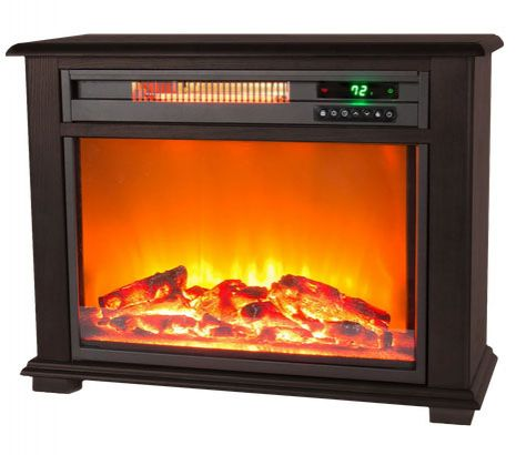 Lifesmart 28.5-in. Infrared Fireplace Heater