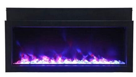Amantii BI60XTRASLIM Electric Fireplace