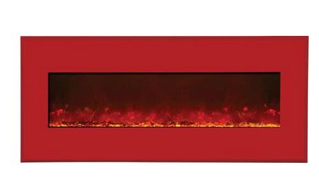 Amantii WMBI435123CANDYAPPLERED Electric Fireplace