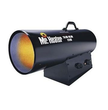 Mr Heater F272425 (MH400FAVT) Forced Air Propane Heater, 250K-400K BTU