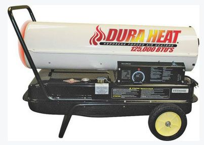 Dura Heat DFA125C Kerosene Forced Air Heater, 125,000 BTU