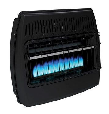 Dyna-Glo GBF30DTDG-2 Blue Flame Garage Heater, Black, 30000 BTU