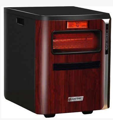 GreenTech 9003014 PureHeat 3-in-1 Infrared Cabinet Heater, 5200 BTU