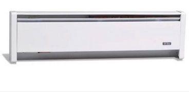 Cadet EBHN1500-8W (13166) Permanent Baseboard Heater, 208 Volt, White