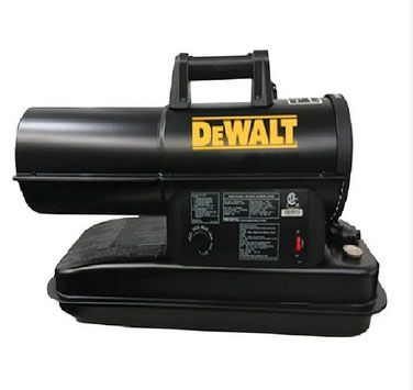 DeWalt F340760 Kerosene Forced Air Heater, Black