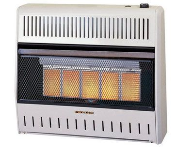 Pro-Com MG3TIR Dual Natural Gas / Propane Wall Heater, 28000 BTU