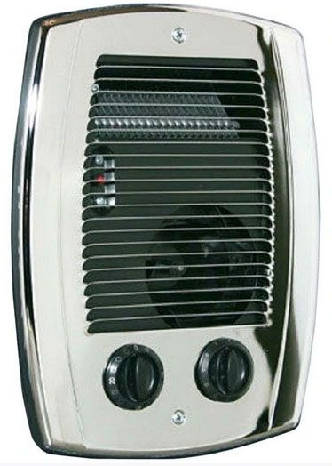 Cadet CBC103TCH Com-Pak Bathroom Heater, 1000 Watts, Chrome
