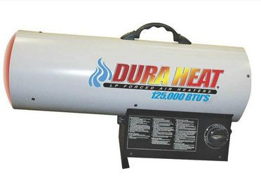 Dura Heat GFA125A LP Forced Air Heater, 125,000 BTU's