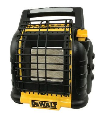 DeWalt F332000 Propane Portable Heater, Yellow