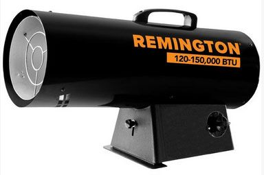 Remington REM-150V-GFA-B Thermostat Propane Gas Heater, 150,000 BTU