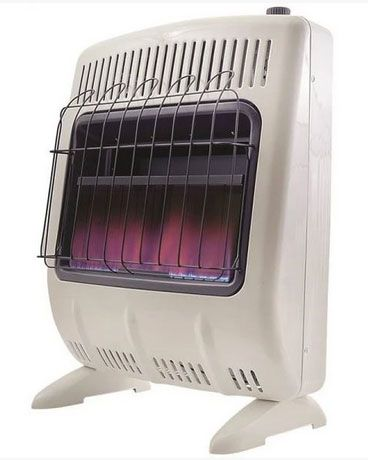 Mr. Heater F299731 Vent Free Blue Flame Natural Gas Heater, 30,000 BTU's