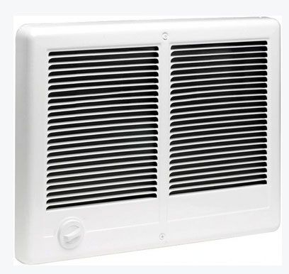 Cadet CSTC402TW (67527) Com-Pak Twin Plus Wall Heater Complete Unit, 4000 W