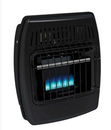 Dyna-Glo IBF10PMDG Wall Heater, Black, 10000 BTU