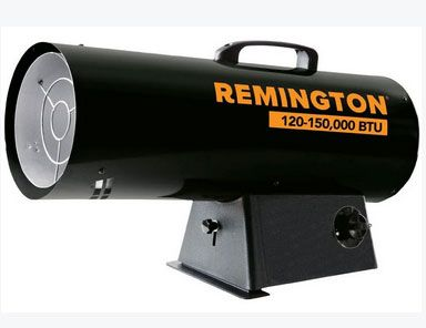 Remington REM-125V-GFA-B Forced Air Gas Heater, 125000 BTU