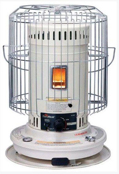 Heat Mate HMC-23K Convection Kerosene Heater, 23,500 BTU